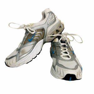 Nike Air Max Moto Shoes Womens 9 1/2 Silver Runnin
